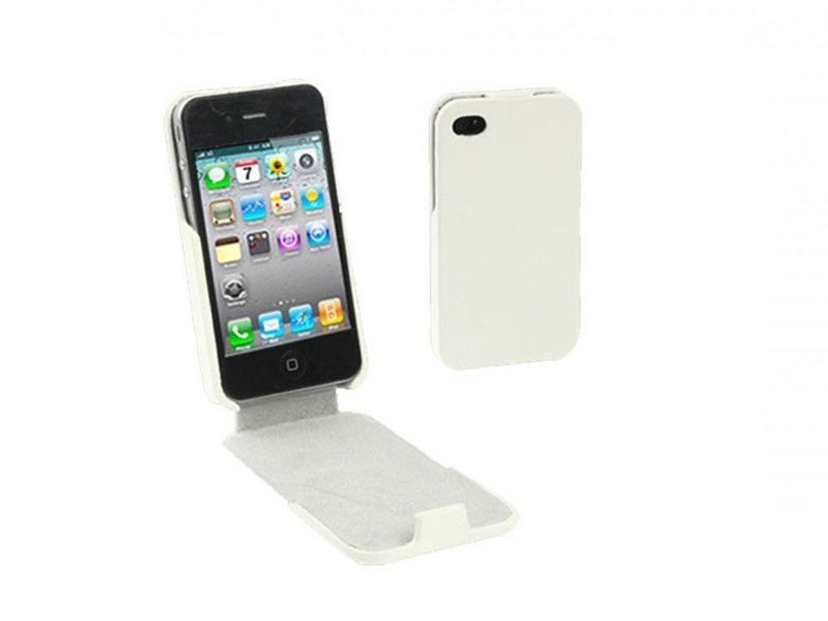 Handy Tasche sehr dünn für Handy iPhone 4 4S weiß