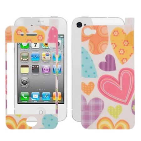 Schutzfolie Skin für Handy iPhone 4 & 4S