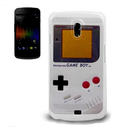 Hard Case Hülle Gameboy für Handy Samsung Galaxy Nexus i9250