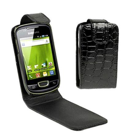 Schutzhülle Flip Tasche für Samsung S5570 / Dart T499