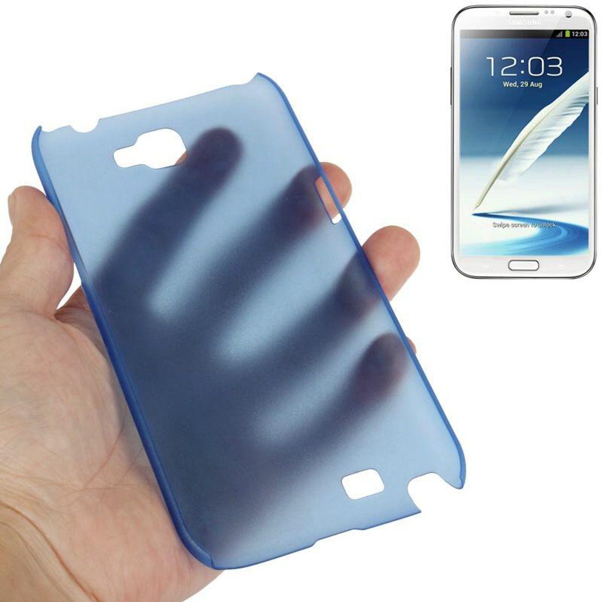 Schutzhülle Hardcase für Handy Samsung Galaxy Note II / N7100 + Folie