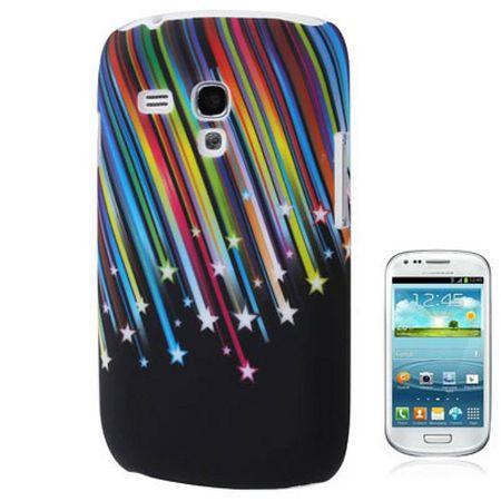 Schutzhülle Hard Case Hülle für Handy Samsung Galaxy S3 mini i8190 / i8195 / i8200 Stars