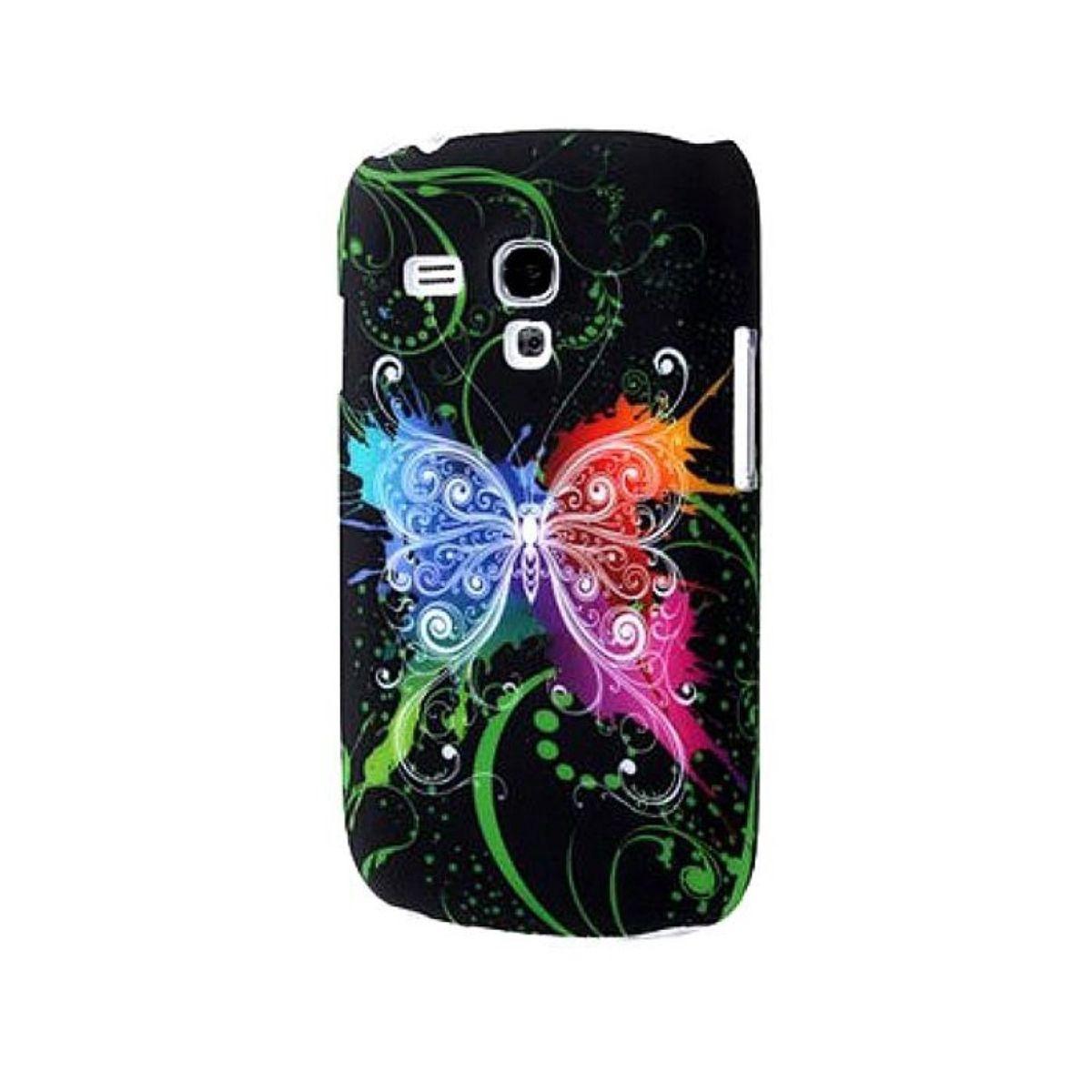Schutzhülle Hard Case Hülle für Handy Samsung Galaxy S3 mini i8190 / i8195 / i8200 Schmetterling