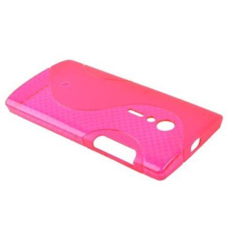 Schutzhülle TPU Case für Handy Sony Xperia Ion LT28i + Folie