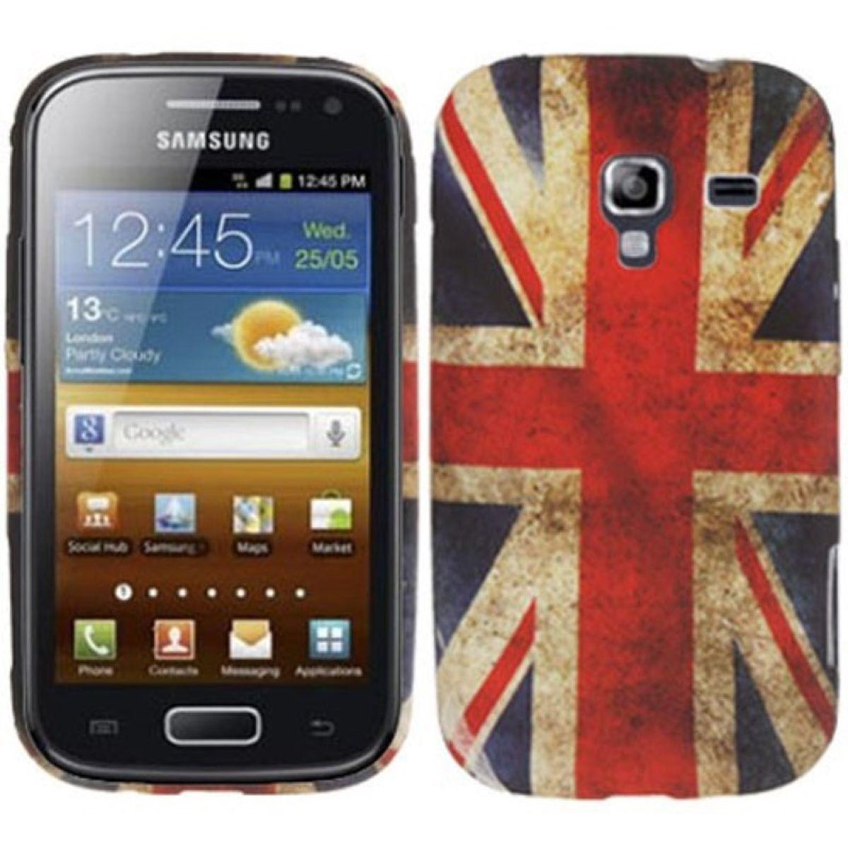Schutzhülle TPU Case für Handy Samsung Galaxy Ace 2 i8160 England