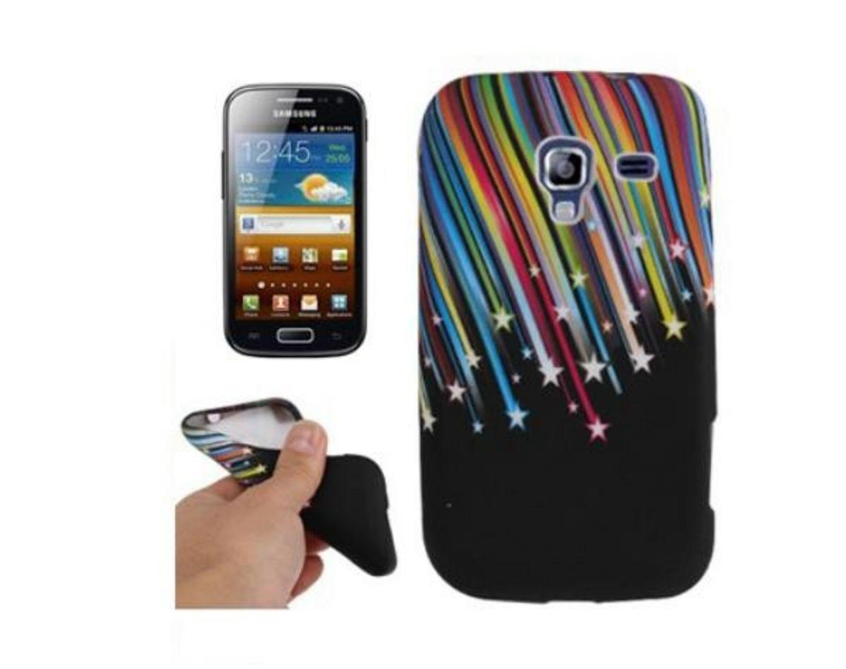 Schutzhülle TPU Case für Handy Samsung Galaxy Ace 2 i8160 Stars