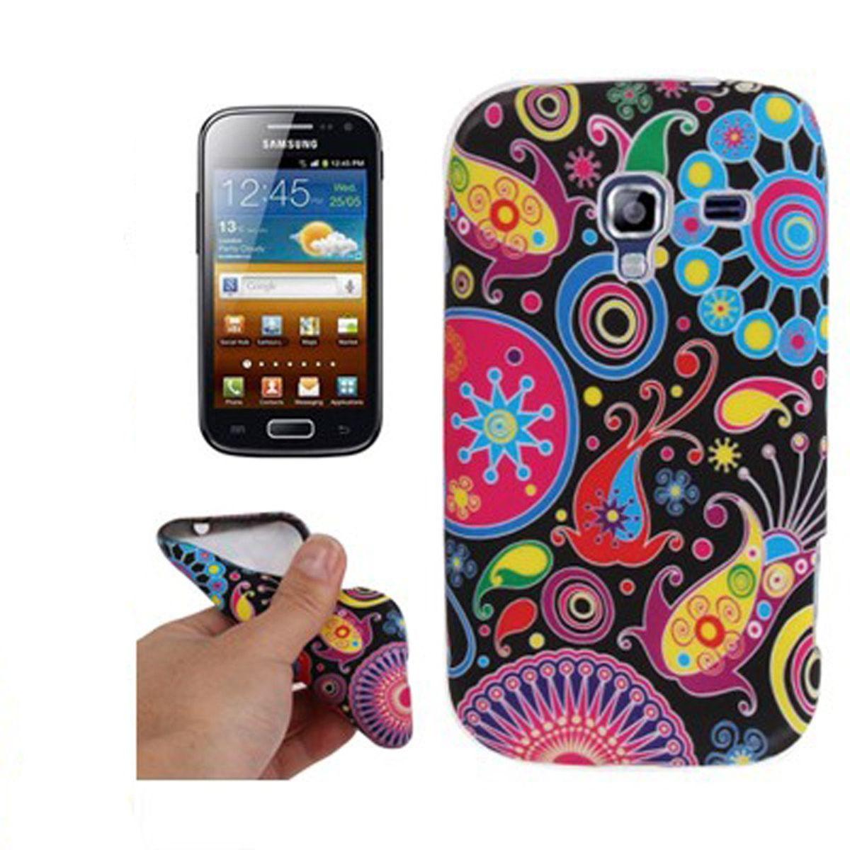 Schutzhülle TPU Case für Handy Samsung Galaxy Ace 2 i8160 Design