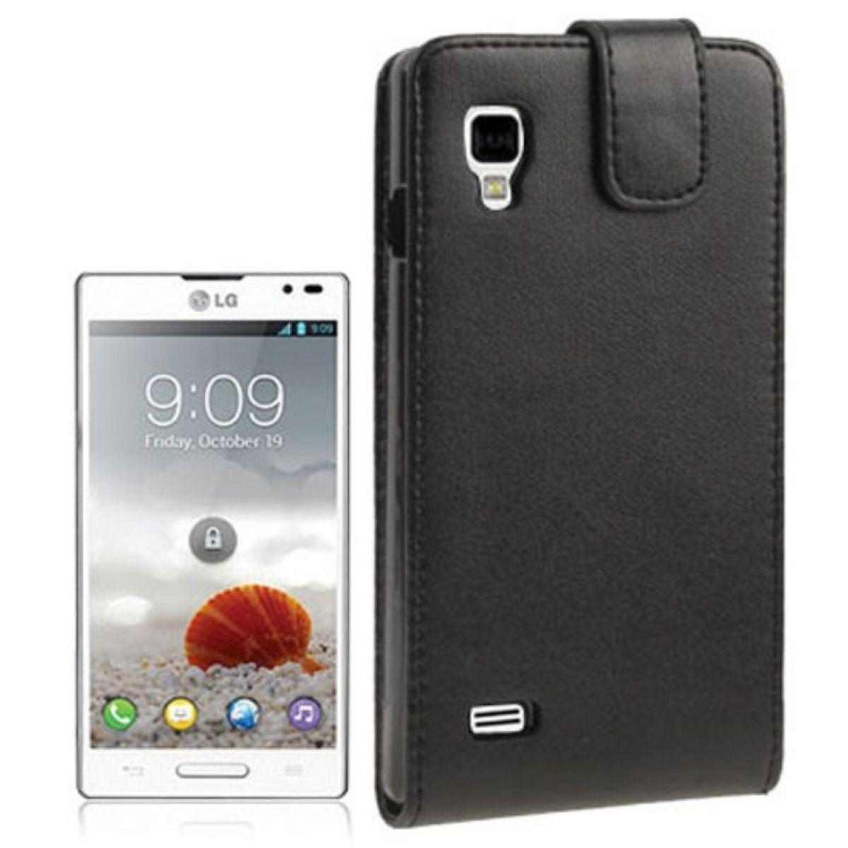 Schutzhülle Flip Tasche für LG P760 Optimus L9
