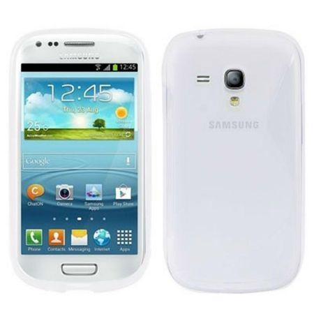 Schutzhülle TPU Case Hülle für Samsung Galaxy S3 mini i8190 / i8195 / i8200 transparent