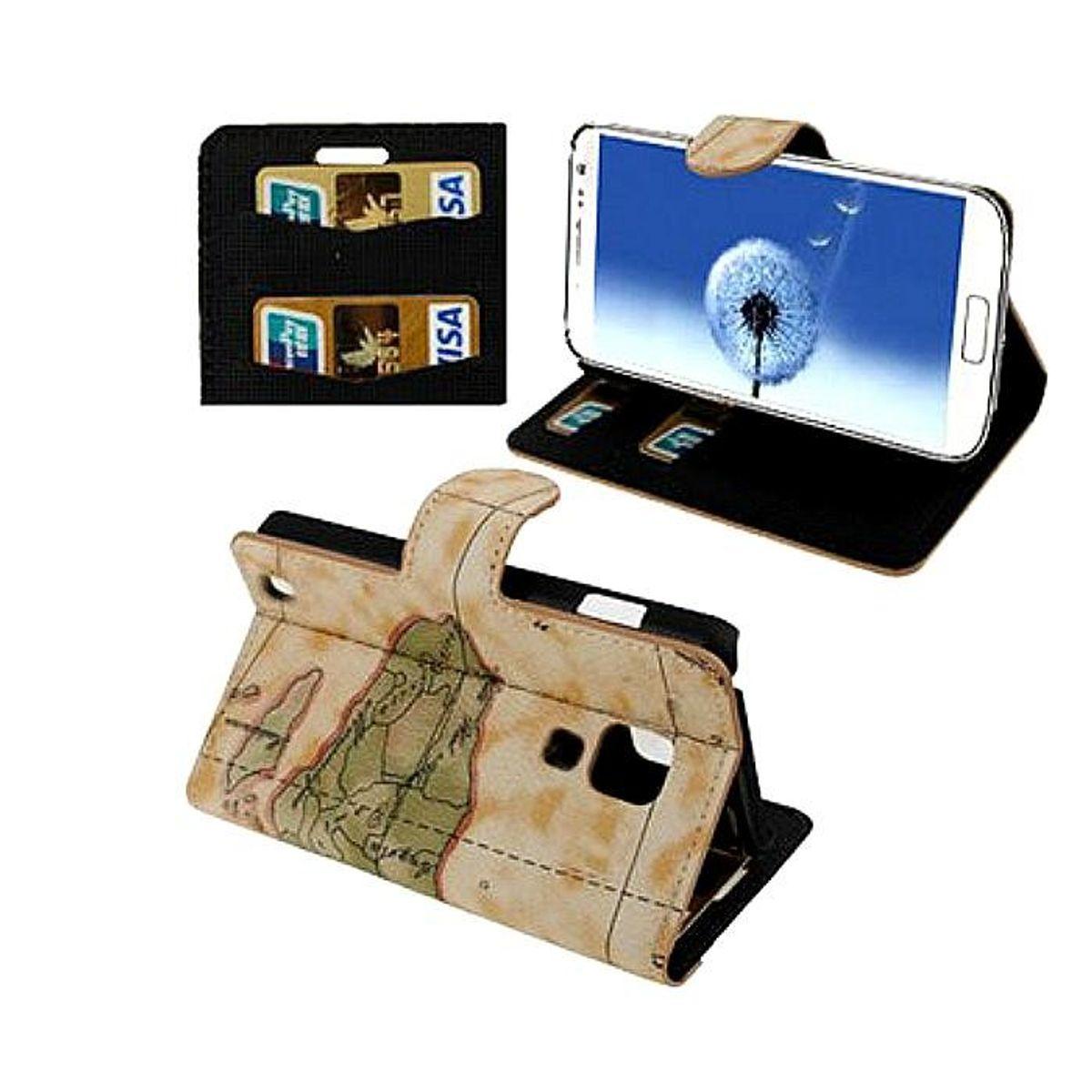 Tasche Handytasche (Flip Quer) Samsung Galaxy i9500 S4