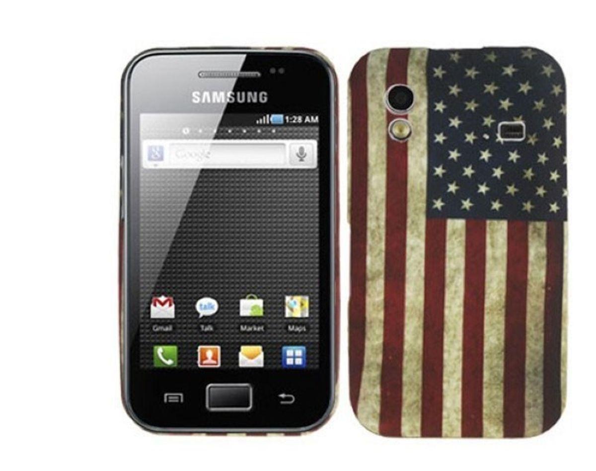 Schutzhülle TPU Retro für Handy Samsung Galaxy ace S5830