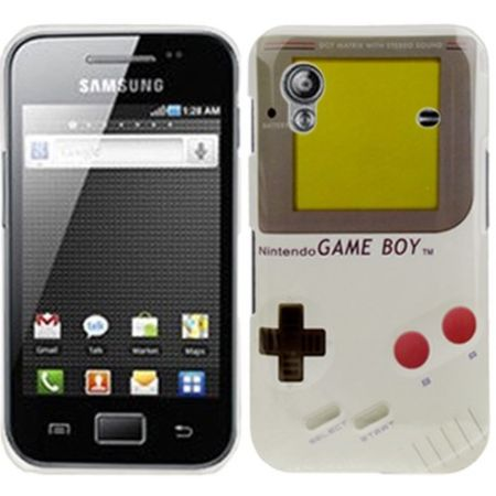 Hard Case Hülle Gameboy für Handy Samsung Galaxy Ace S5830