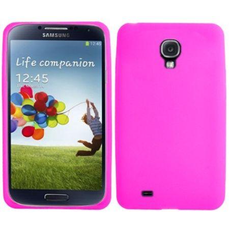 Schutzhülle Silikon Case für Handy Samsung Galaxy S4 GT-I9500 / GT-I9505 / LTE+ GT-I9506 / Value Edition GT-I9515 pink
