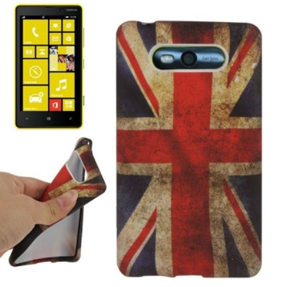 Schutzhülle TPU Case für Handy Nokia Lumia 820 England