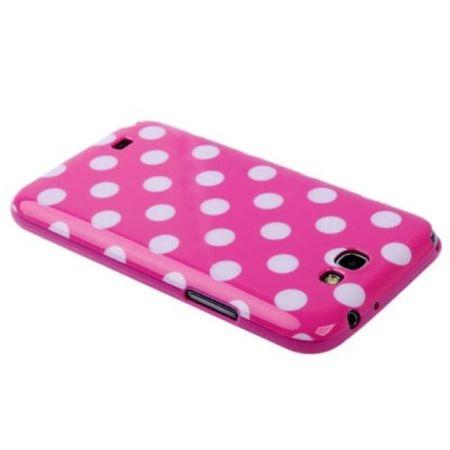 Schutzhülle TPU Case für Samsung Galaxy Note II N7100 pink – Bild 2