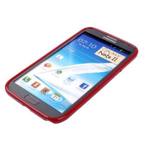 Schutzhülle TPU Case für Handy Samsung Galaxy Note II N7100 Rot – Bild 2