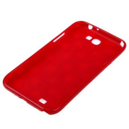 Schutzhülle TPU Case für Handy Samsung Galaxy Note II N7100 Rot – Bild 3