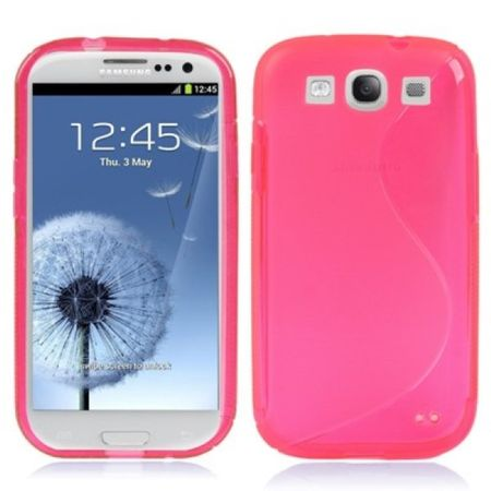 Handyhülle TPU Hülle für Handy Samsung Galaxy S3 i9300 / i9305 / S3 NEO i9301 Pink