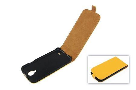 Tasche (Flip Slim) Samsung I9500 Galaxy S4 gelb