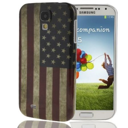 Handyhülle USA Flagge für Samsung Galaxy S4 GT-I9500 / GT-I9505 / LTE+ GT-I9506 / Value Edition GT-I9515