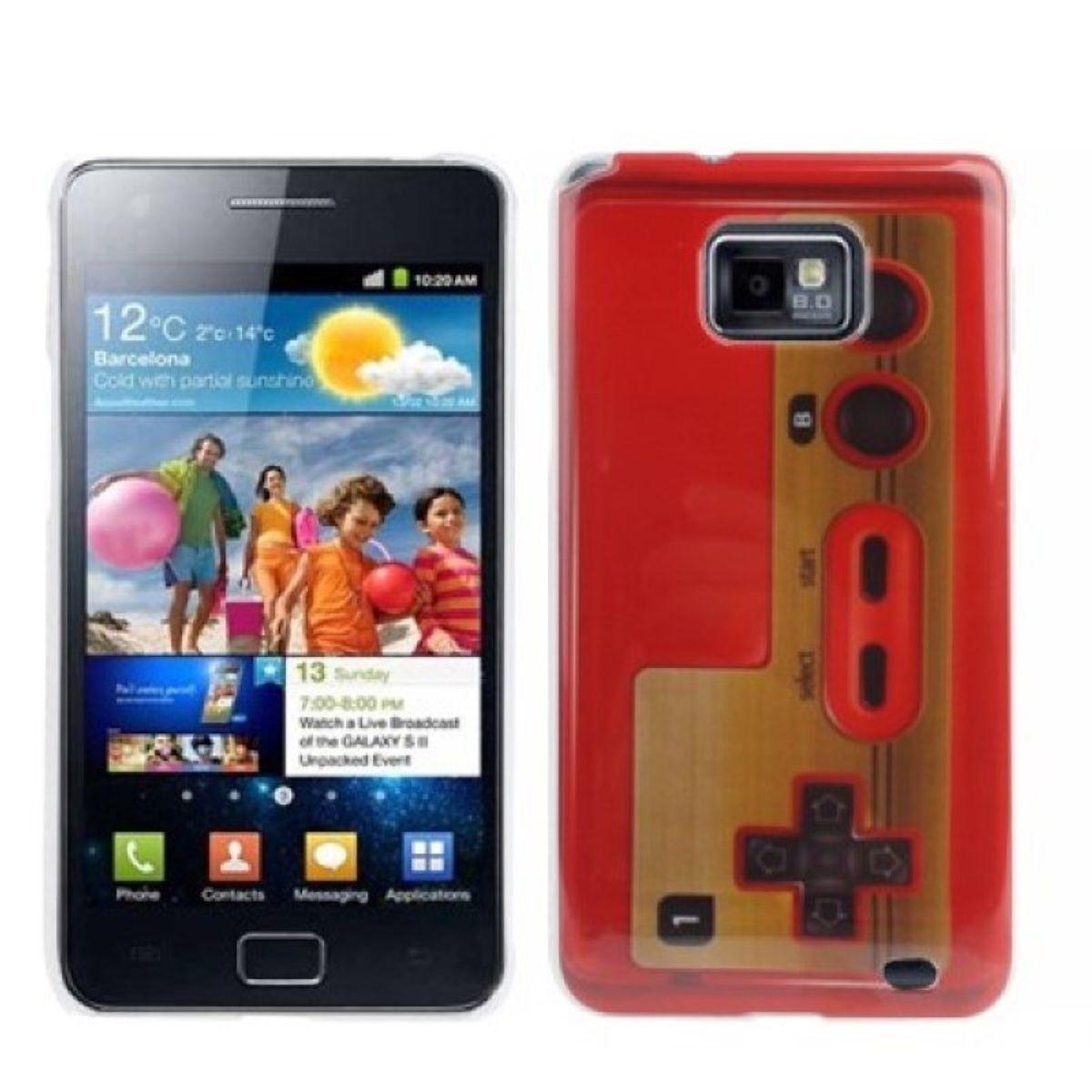 Schutzhülle Hard Case Joystick Style für Handy Samsung Galaxy S2 i9100 Retro