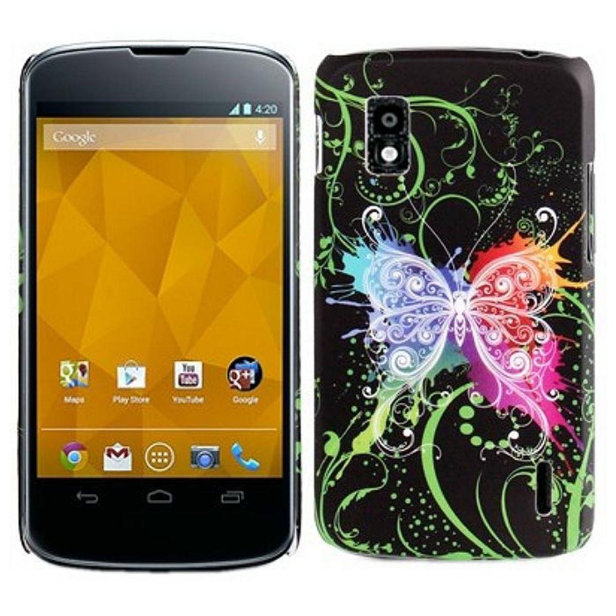 Schutzhülle Silikon Case für Handy LG Nexus 4 E960