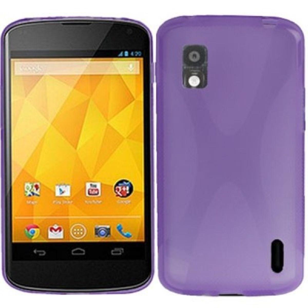 Schutzhülle Kunststoff Case für Handy LG Nexus 4 E960