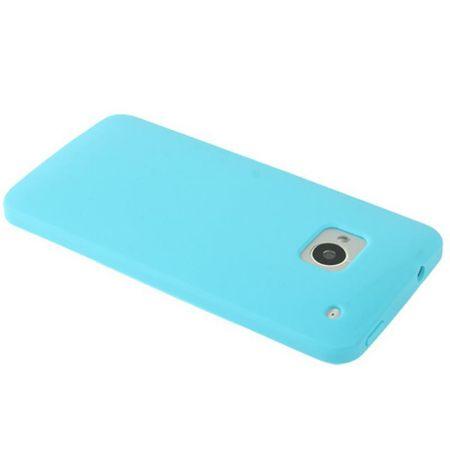 Schutzhülle Silikon Case für Handy HTC One M7 Hellblau – Bild 4