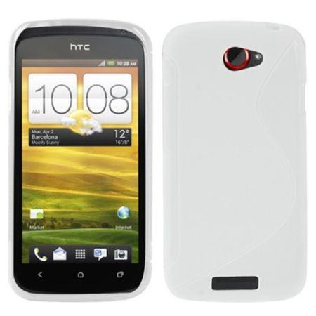 Schutzhülle Case Hülle für HTC One S Z520e Weiß