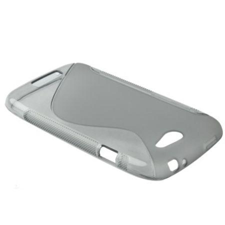 Schutzhülle Case Hülle für HTC One S Z520e Grau – Bild 3