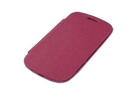 Tasche (Flipcover) für Handy Samsung i8190 / i8195 / i8200 Galaxy S3 mini Pink
