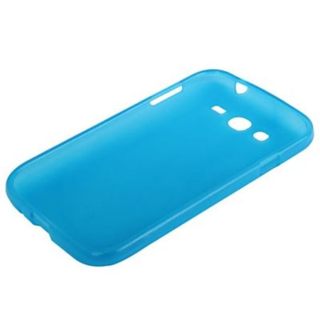 Schutzhülle TPU für Handy Samsung Galaxy Grand Duos i9082 Hellblau – Bild 2