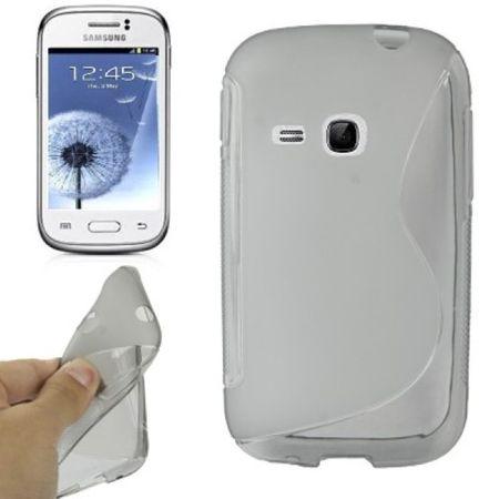 Schutzhülle TPU Case für Handy Samsung Galaxy Young S6310/S6312 – Bild 2