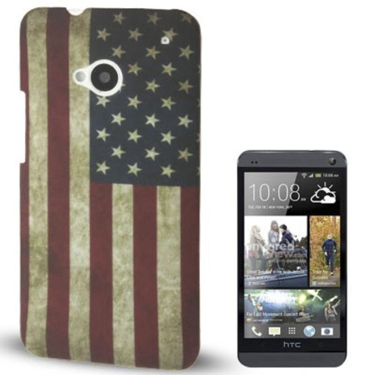 Schutzhülle Handyhülle Kunststoff-Gehäuse für Handy HTC One M7 USA