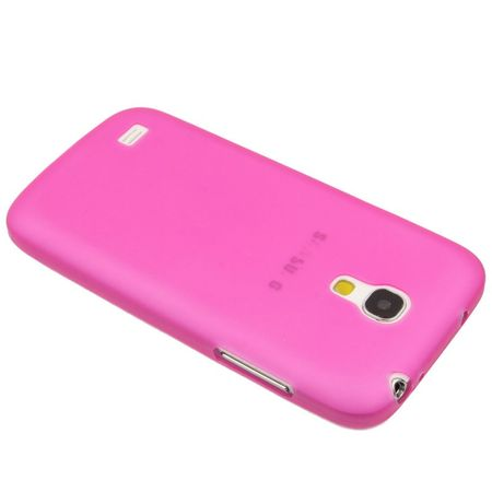 Schutzhülle Case Ultra Dünn 0,3mm für Handy Samsung Galaxy S4 mini i9190 Pink Transparent