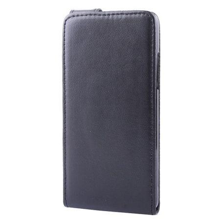 Schutzhülle Flip Tasche für Handy HTC One mini M4 601e Schwarz – Bild 4
