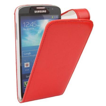 Schutzhülle Flip Tasche für Handy Samsung Galaxy S4 Active GT-I9295 Rot