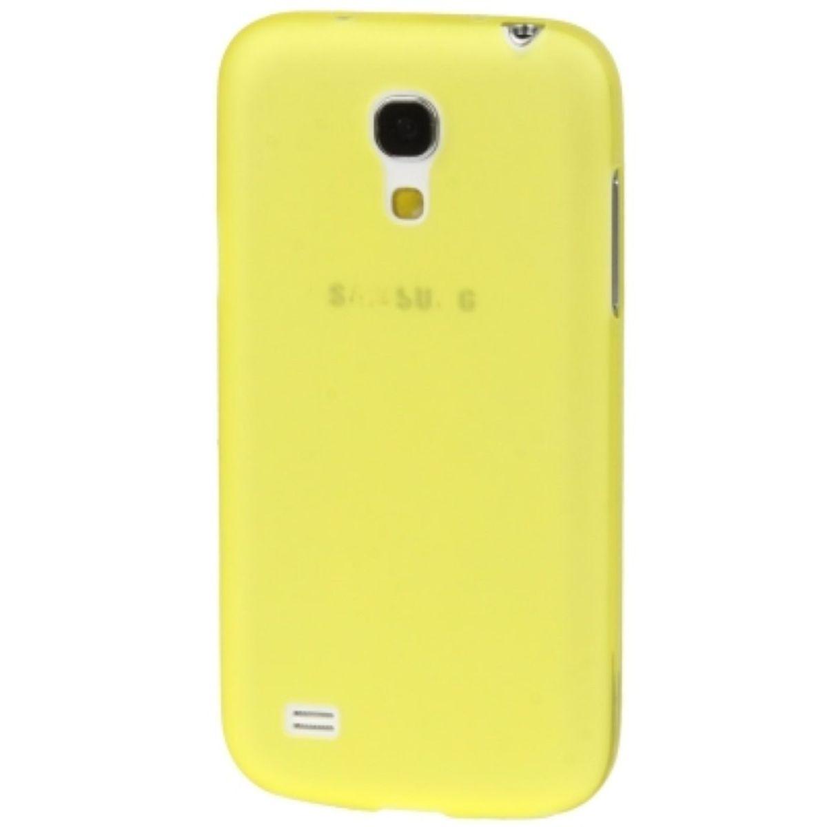 Schutzhülle Case Ultra Dünn 0,3mm für Handy Samsung Galaxy S4 mini i9190 Gelb Transparent