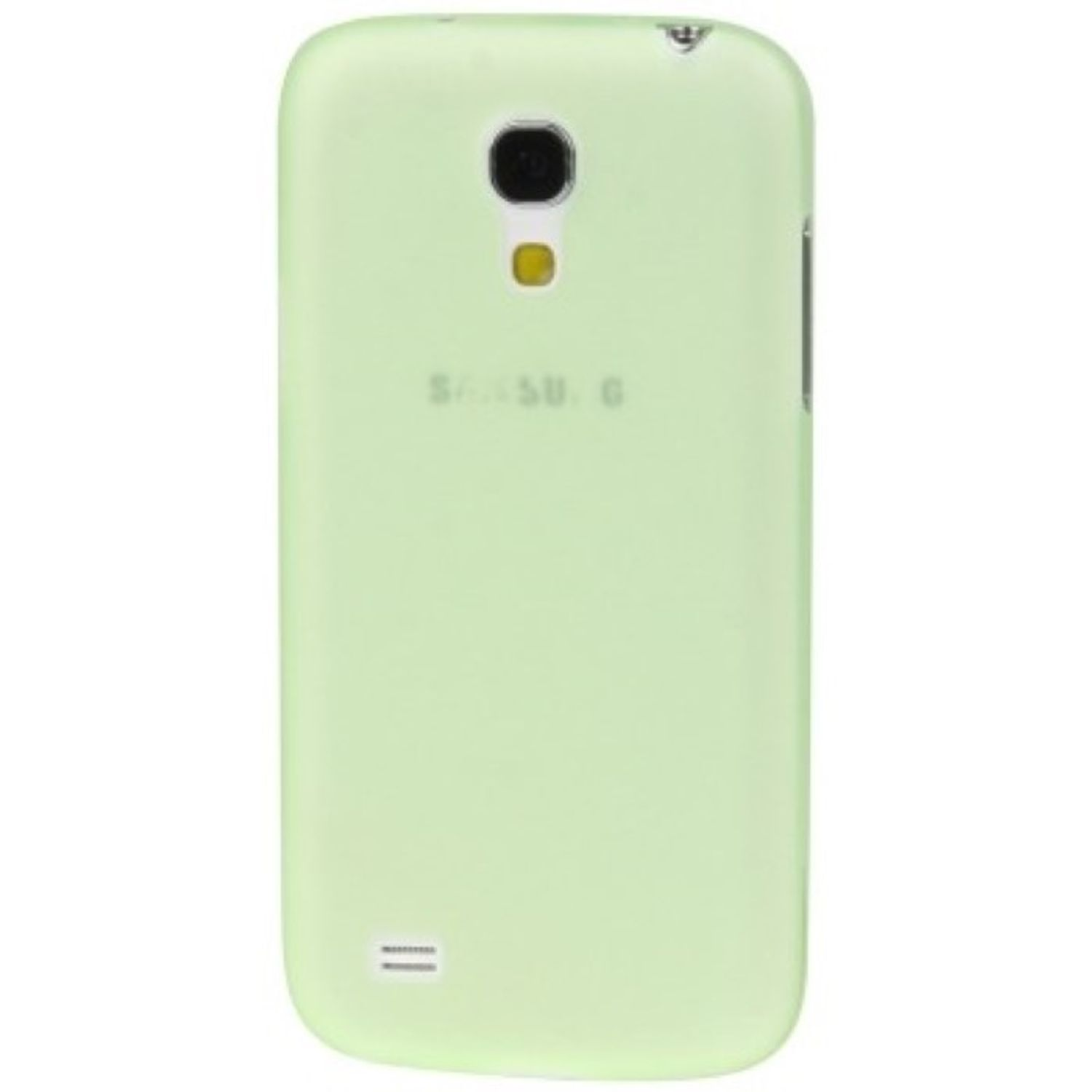 Schutzhülle Case Ultra Dünn 0,3mm für Handy Samsung Galaxy S4 mini i9190 Grün Transparent