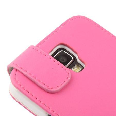 Schutzhülle Flip Tasche für Handy Samsung Galaxy S4 Active GT-I9295 Pink – Bild 5