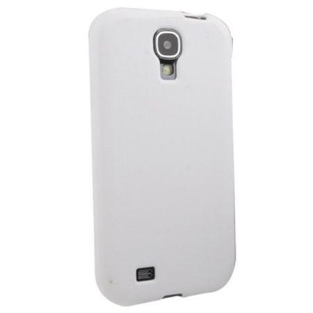 Schutzhülle TPU Tasche für Handy Samsung Galaxy S4 GT-I9500 / GT-I9505 / LTE+ GT-I9506 / Value Edition GT-I9515 Weiß