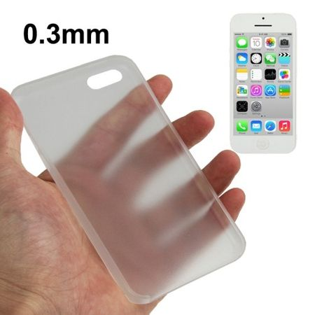 Schutzhülle Case Ultra Dünn 0,3mm für Handy Apple iPhone 5C Transparent