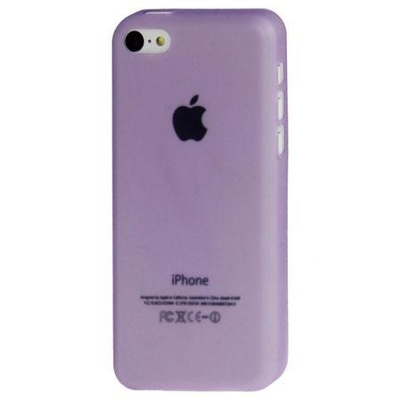 Schutzhülle Case Ultra Dünn 0,3mm für Handy Apple iPhone 5C Lila – Bild 2