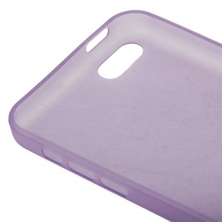Schutzhülle Case Ultra Dünn 0,3mm für Handy Apple iPhone 5C Lila – Bild 4