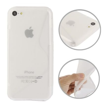 Handyhülle TPU Case für Handy Apple iPhone 5C Transparent – Bild 1