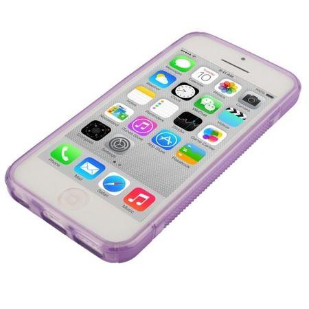 Handyhülle TPU Case für Handy Apple iPhone 5C Lila – Bild 4