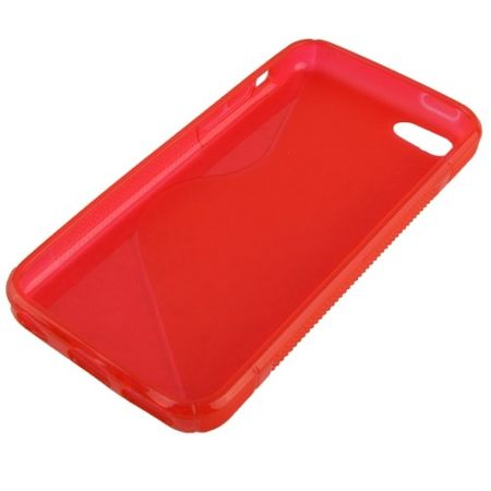 Handyhülle TPU Case für Handy Apple iPhone 5C Rot – Bild 2