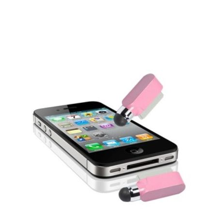 Eingabestift Touch Pen für Handy Apple iPhone 4 & 4S Rosa