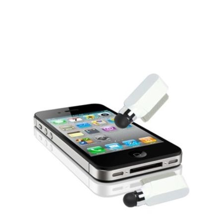 Eingabestift Touch Pen für Handy Apple iPhone 4 & 4S weiss