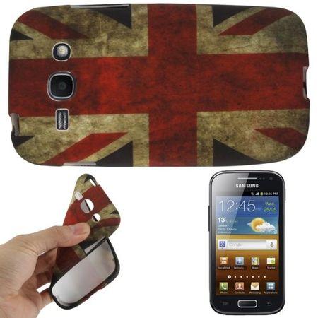 Schutzhülle TPU Case für Handy Samsung Galaxy Ace 3 S7272 England
